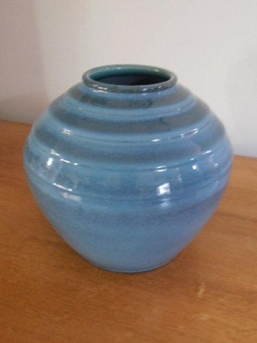 Art Deco Wedgwood Vase By Norman Wilson Marlborough
