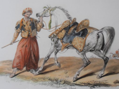 Carle vernet set of three aquatints of mamelucks for Carpe vente