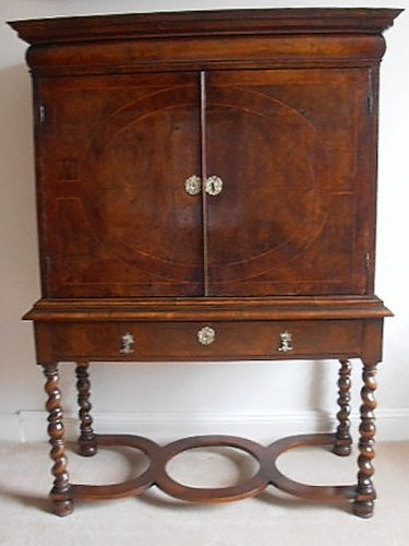 Queen Anne Walnut Cabinet - Marlborough Antiques & Interiors