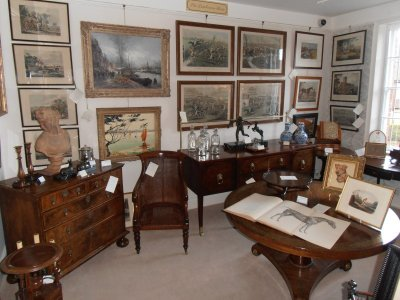 Marlborough Antiques at Great Grooms Hungerford